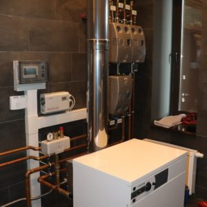 Газовая котельная мощностью 44 квт. 1