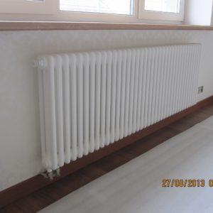 Монтаж радиатора отопления Arbonia в загородном доме 1