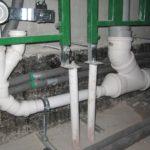 Монтаж канализации загородного дома 250 кв.м. 2