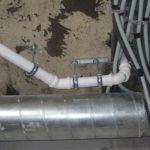Монтаж канализации загородного дома 550 кв.м. 4
