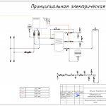 2D проект котельной с настенным электрическим котлом 2